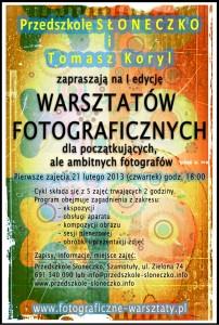 WARSZTATY FOTOGRAFICZNE (C)2013 Tomasz Koryl, all rights reserved