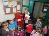 Przedszkolaki na Poczcie
